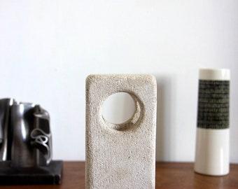 Sculpture lamp stone Albert Tormos 70s