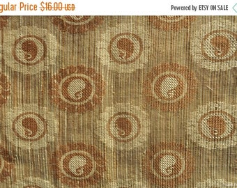 ON SALE Discount fabric Sheer fabric Beige Jacquard fabric Brocade fabric sold by the yard