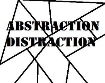 Abstraction Distraction PDF Coloring Book