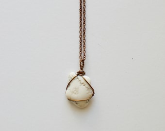 White Magnesite Necklace