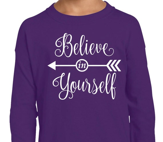 Believe in yourself decal vinyl cut file inspiration quote art believe in yourself decal vinyl cut file inspiration quote art arrow cricut silhouette vector svg from thesassypossum on etsy studio solutioingenieria Images