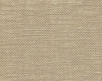 NATURAL LIGHT 32 ct. count cross stitch fabric linen Zweigart hand embroidery Belfast