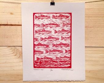 Airport Road fly fishing artwork of Jonathan Marquardt