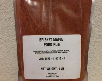 1 Pound bag of Brisket Mafia Pork Rub
