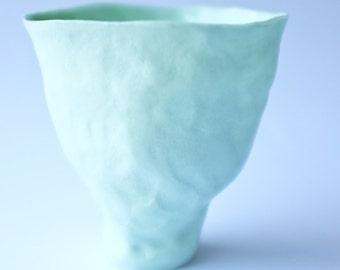 paris green porcelain vessel no.2