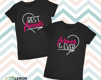 Best Friends Forever Ever, Price for 1 shirt, BFF shirt, best friend gift, besties, best friend shirt, best friend t shirt, friend birthday