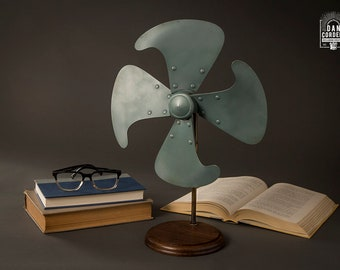 Vintage Fan Blade - Home Decor