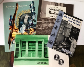 Kearney & Trecker Booklets 1950s Milwaukee Wisconsin Machine Tools Brochures