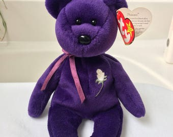 Rare Princess Dianna Beanie Baby 1997 first edition tribute