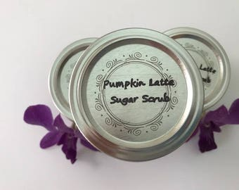 Pumpkin Latte Sugar Scrub