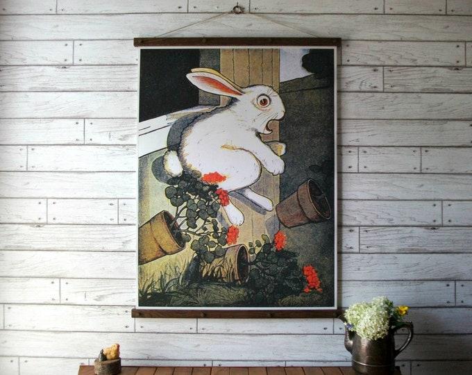 Tale of Peter Rabbit Book Illustration Chart