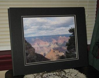 Matted, South Rim, Grand Canyon, Arizona, Fine Art, Photography, Print, Glossy, OOAK