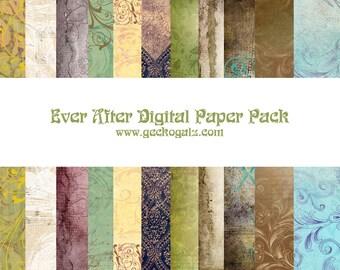 ever After Digital Paper Pack