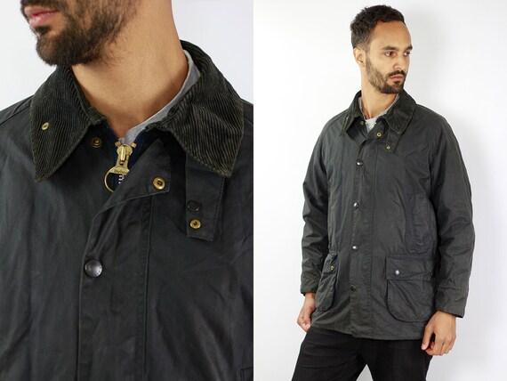 BARBOUR Coat Barbour BEDALE Wax Jacket Vintage Barbour Bedale Coat Parka Blue Coat BARBOUR Wax Jacket Blue Wax Coat Barbour Coat Waxed Coat