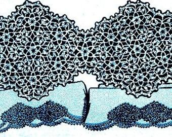 Pillowcase Insertion Crochet Pattern 723116
