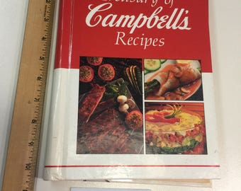 Treasury of CAMPBELL's RECIPES Cookbook 1991 spiral bound 288 pages