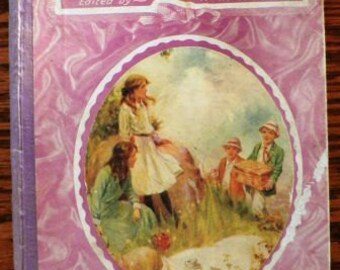 vintage book ... A GARLAND for GIRLS  ...