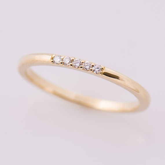 htm stone ring white style rings real in photo hand engagement gold u prong diamond f skye gi right five