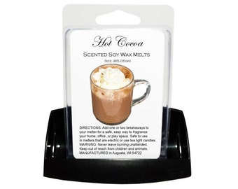 HOT COCOA // Wax Tarts // Soy Tarts // Candle Tarts // Melting Tarts // Scented Tarts