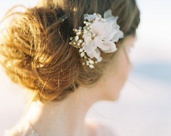 Bridal headpiece bridal hat wedding headpiece silk flower blush pearl bridal hair comb crystal floral wedding hair comb pearl bridal headpiece mightylinksfo