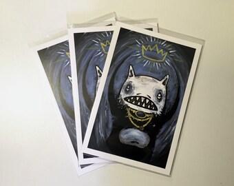 Mouse King - Original Print