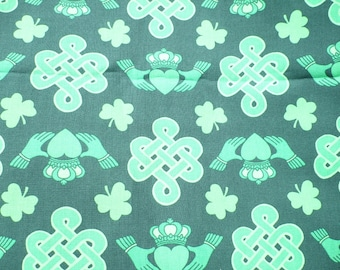 Celtic, seat cover, office chair cover, protection, chair cover, shamrock, celtic knot, Claddagh