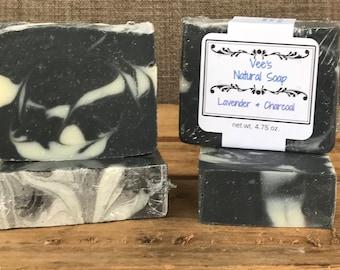Lavender Charcoal Vegan