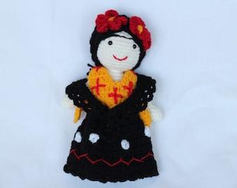 Crochet-pop Frida Kahlo