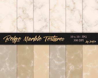 Beige marble textures, marble digital paper, luxury background, stone textures, bright marble patterns, download
