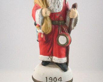 Lamp Finial:  1904 Reproduction Santa, Bag of Toys  (8U)