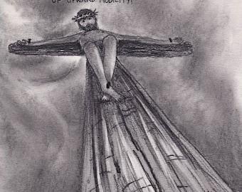 Jesus and Upward Mobility CARTOON