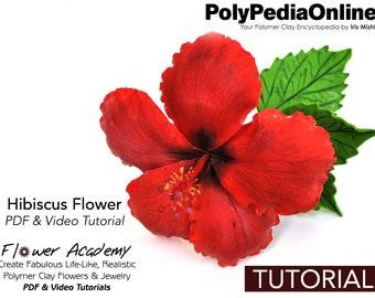 Polymer Clay Tutorial, DIY Jewelry, Flower Decoration, DIY Flowers, Table Centerpiece, Wedding, Flowers Tutorial, diy Handmade Bead, Video