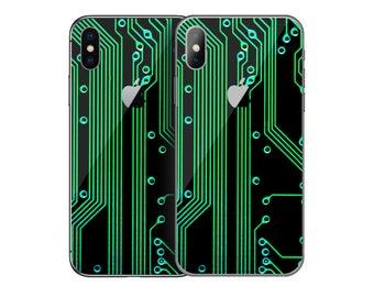 Circuit Board iPhone Skin