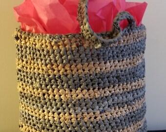 Crochet Plarn Tote Bag 4