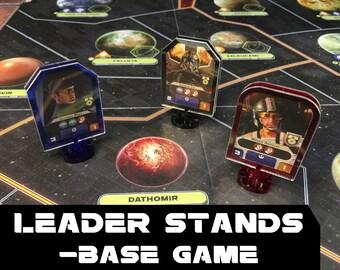 Star Wars: Rebellion Leader Stands -BASE GAME