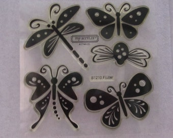 Close to my Heart CTMH B1210 Flutter Butterflies Dragonfly etc
