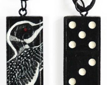 Domino Deco Pendant – Loon