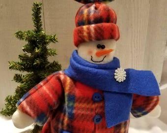 Snowman,Snowman shelf sitter,Snow people,Christmas decor,Winter decor,Holiday decor,Home decor
