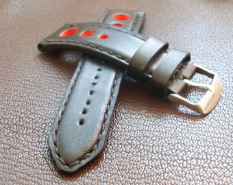 Leather Watch band, 20-26mm, Leather watch bands, watch leather band, watch strap,handmade