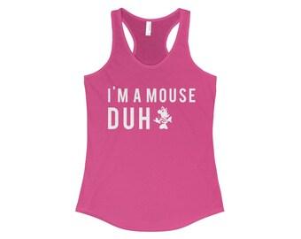 Mean Girls Disney Mouse Racerback Tank