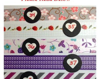 International, Canada, Washi Tape by the Foot, Supplies, Crafts, Masking Tape