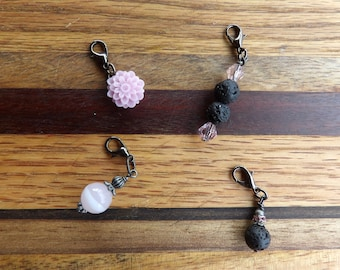 Essential Oil Diffuser Stitch Marker Set