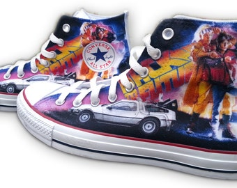 Back to the Future Custom Converse All Stars