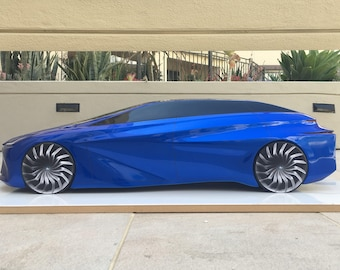 Automotive Car Clay Sculpture, Design, Model