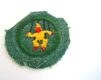 Vintage Girl Scout Play Director Badge
