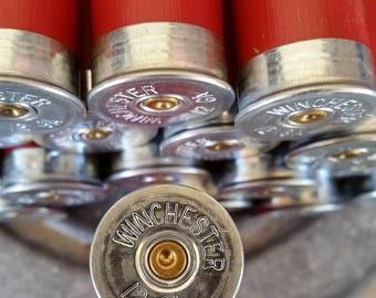 Shotgun Shells, Winchester, 12 Gauge, Jewelry Grade, Once Fired, Ammo Crafts, Empty / Spent Hulls, Bezels, Gun Crafting, DIY, Casings, Resin