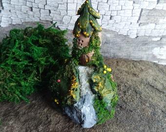 OOAK Handmade Miniature Fairy House