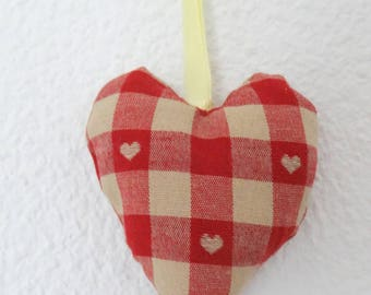 Small heart hanging