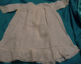 """Baby dress embroidered soft """"lawn """"  material."""