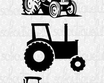 Tractor SVG Cut File for Cricut, Farm SVG, Farm Life SVG